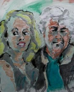 Martin & wife